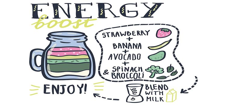 Quick smoothie for energy boost